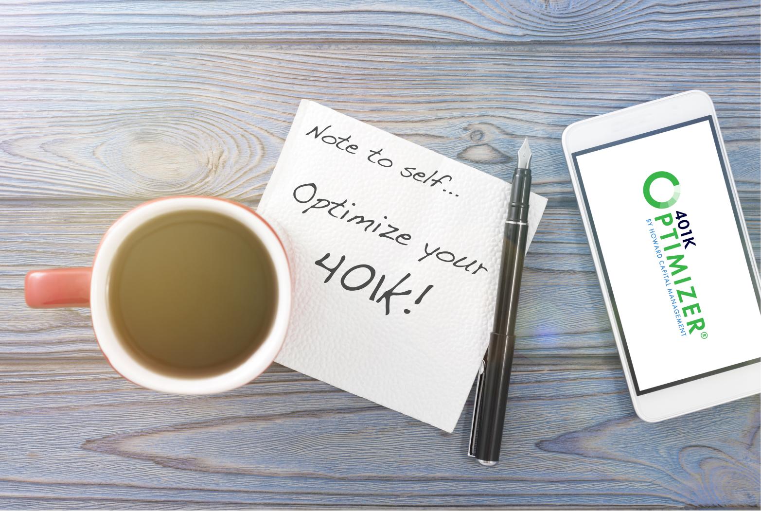 401k Asset Allocation Napkin